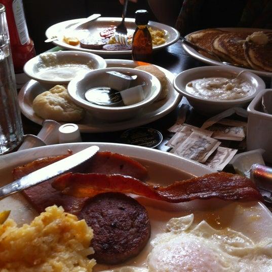 Photo taken at Cracker Barrel by Ryan O. on 4/22/2012