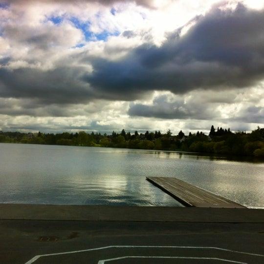 Photo taken at Green Lake Boathouse by Erik B. on 4/27/2012