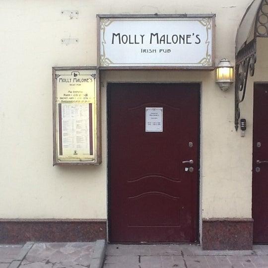 Снимок сделан в Molly Malone's Pub пользователем Kirill S. 4/1/2012