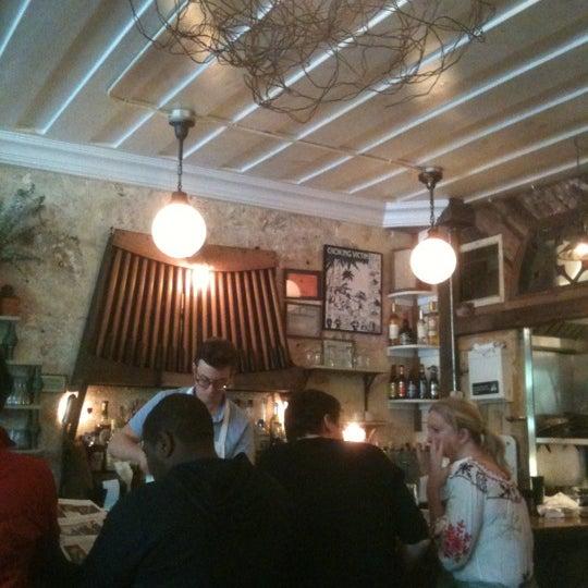 Photo taken at Vinegar Hill House by JC V. on 5/6/2012