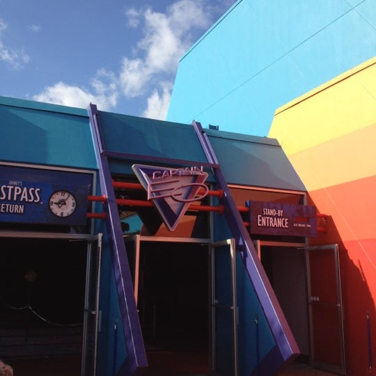 Photo taken at Captain EO by Gordon D. on 3/6/2012