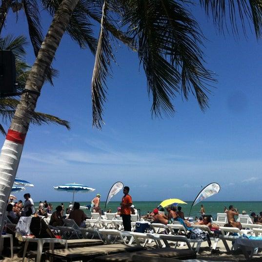 Photo taken at Playa El Yaque by Barbara V. on 6/3/2012