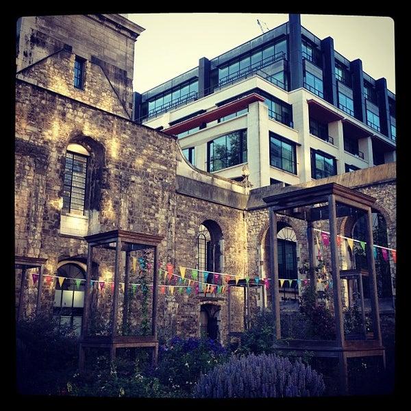 Christ Church Greyfriars Garden City Of London King Edward St