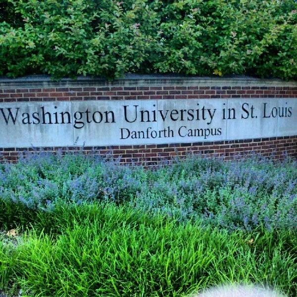 Photo taken at Washington University by Ryan D. on 5/14/2012