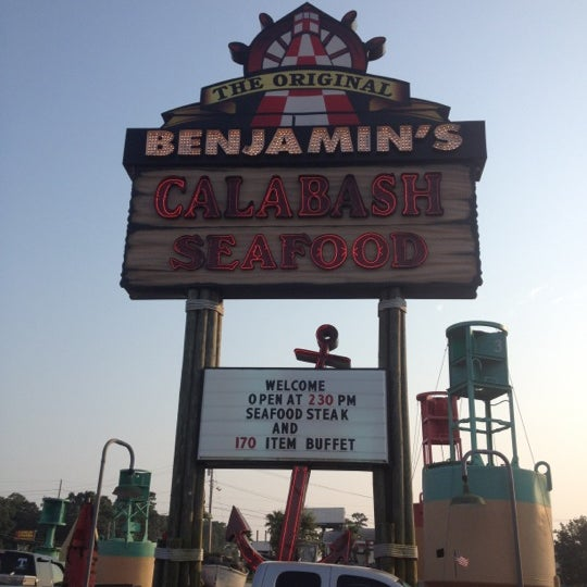 Photo taken at The Original Benjamin's Calabash Seafood by Marcia A. on 6/30/2012