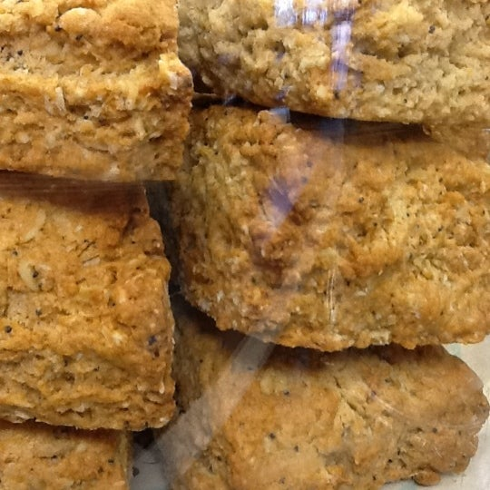 I'm not a scone fan but I LOVE these.  They're unlike any others.  Yum!