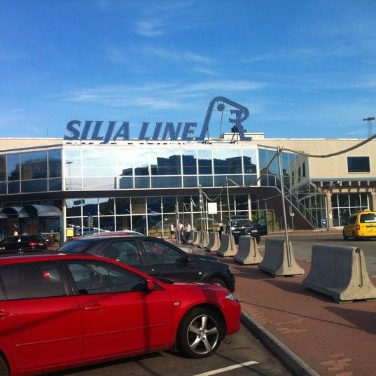 Silja Line Terminal Transportation Service In Stockholm