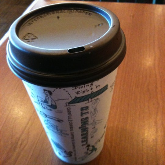 Photo taken at Caribou Coffee by Brittney on 8/17/2012