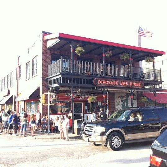 Photo taken at Dinosaur Bar-B-Que by David C. on 7/6/2012