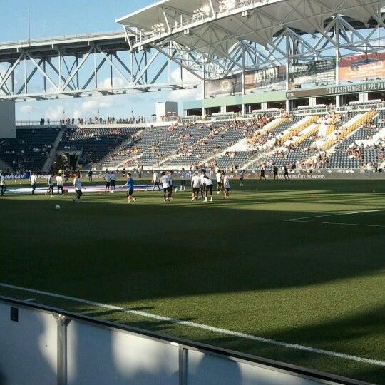 Photo taken at Talen Energy Stadium by Sean D. on 6/23/2012