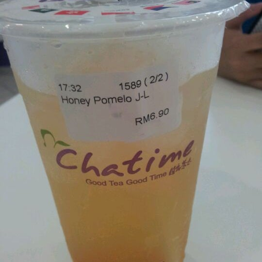 Photo taken at Chatime by May H. on 3/8/2012