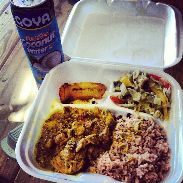 Photo taken at Mama Jamaica's Kitchen by Bobby D. on 8/30/2012