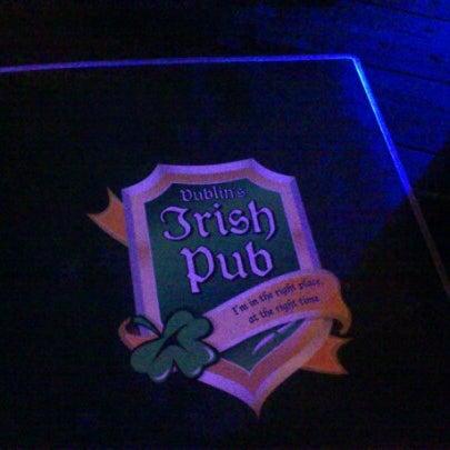 Photo taken at Dublin's Irish Pub by Adriana M. on 6/23/2012