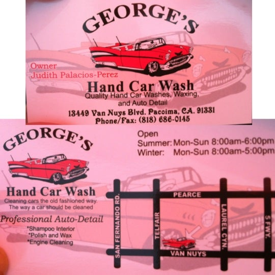 Georges hand car wash pacoima 4 tips from 48 visitors solutioingenieria Images