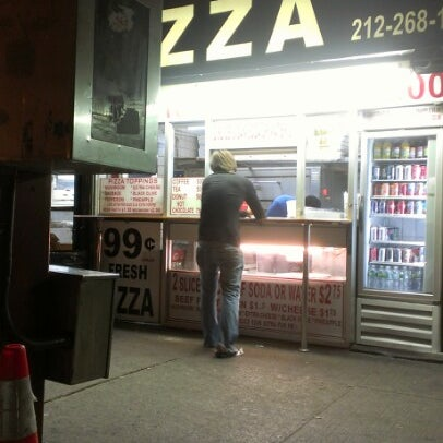Photo taken at 99¢ Fresh Pizza by MzG0rge0us on 7/11/2012