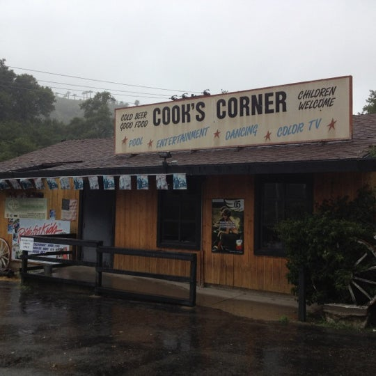 Photo taken at Cook's Corner by Alan A. on 4/23/2012
