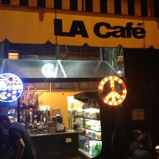 Photo taken at LA Café by Velvet P. on 5/29/2012