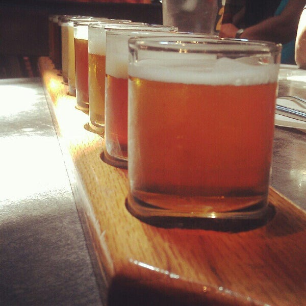 Photo taken at Portsmouth Brewery by Ross T. on 7/12/2012