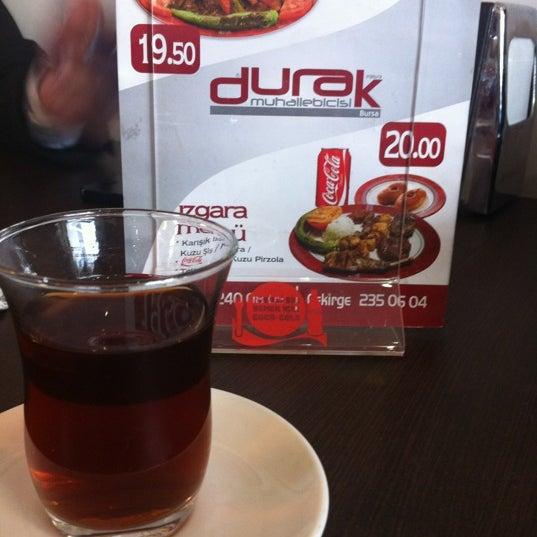 3/16/2012 tarihinde Emir Y.ziyaretçi tarafından Durak Muhallebicisi'de çekilen fotoğraf