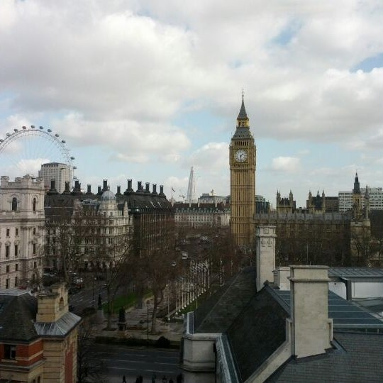 Photo taken at Queen Elizabeth II Conference Centre by Alex R. on 3/8/2012
