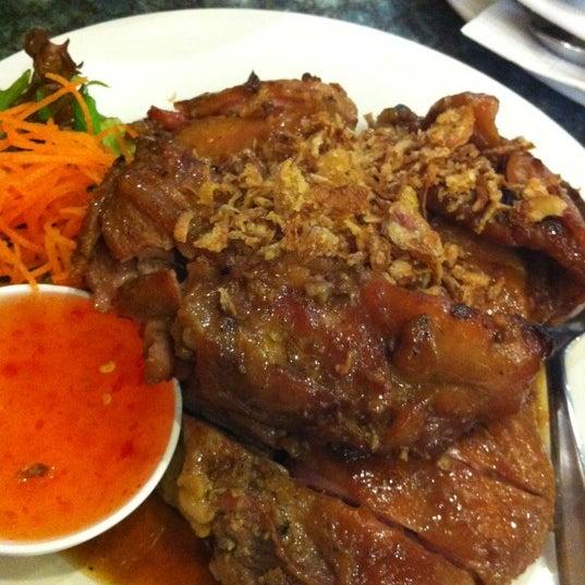 Photo taken at Taste of Thai by Carol on 4/16/2012
