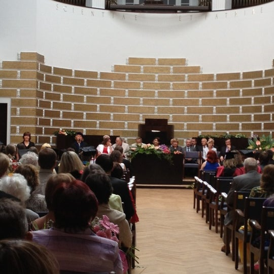 Photo taken at University of Latvia by Ksenija O. on 6/30/2012