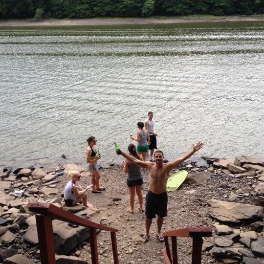 Swinging bridge campground