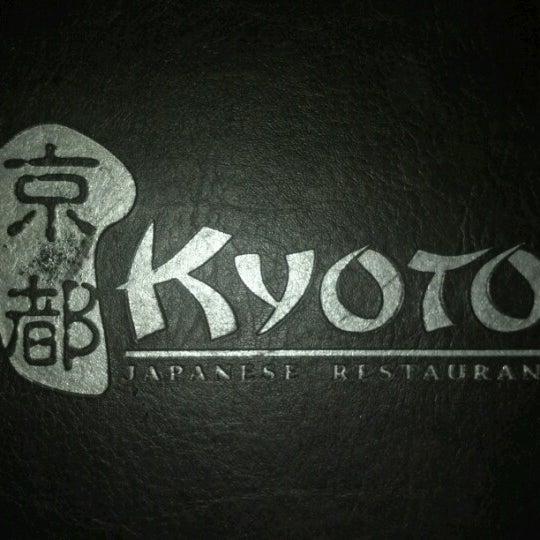 Photo taken at Kyoto Japanese Restaurant by Samantha G. on 8/11/2012