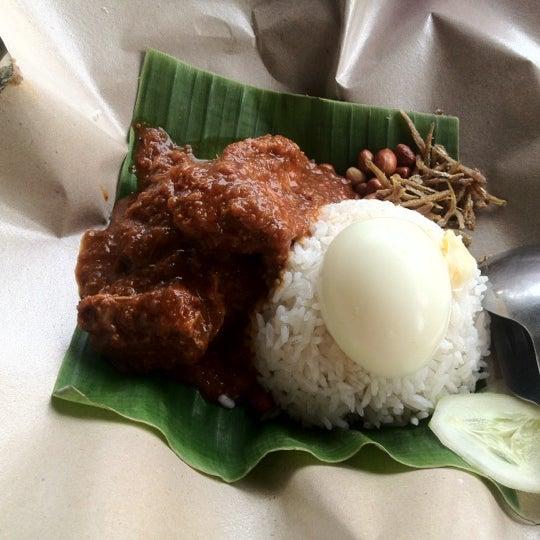 Nasi Lemak Rendang Ayam is pretty tasty.