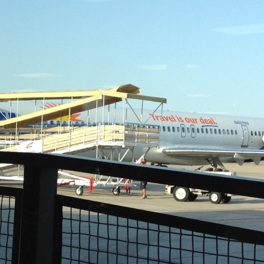 Photo taken at Phoenix-Mesa Gateway Airport (AZA) by Carrie B. on 3/27/2012