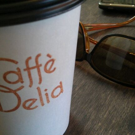 Photo taken at Caffe Delia by rouge a. on 5/6/2012