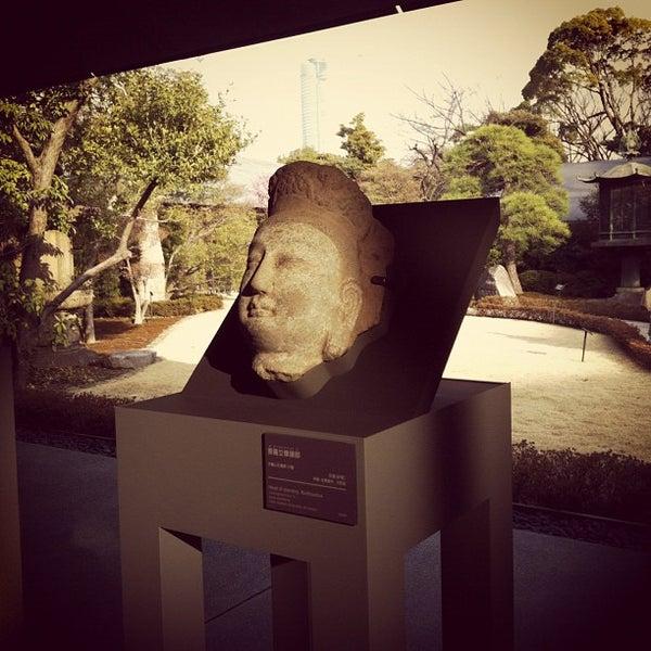 Photo taken at Nezu Museum by sao-ri i. on 3/20/2012