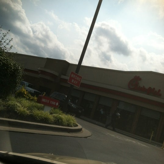 Photo taken at Chick-fil-A Bowie by Damien N. on 8/1/2012