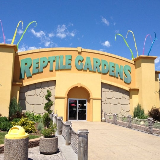 Photo taken at Reptile Gardens by Katie B. on 6/16/2012