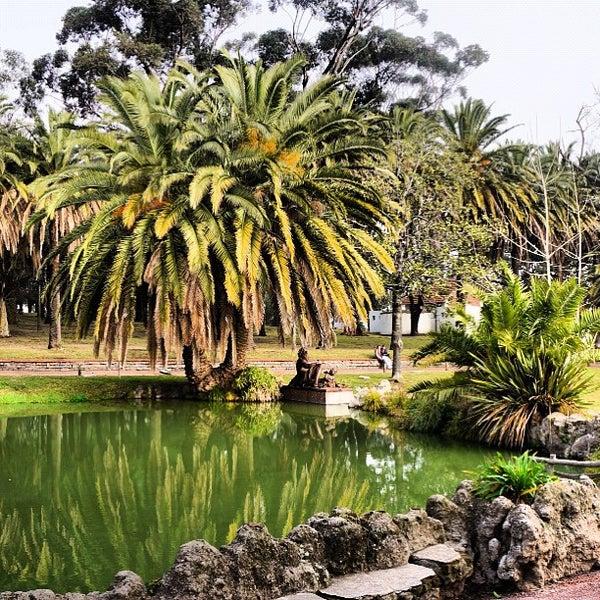 Photo taken at Parque José Enrique Rodó by Ana Carla C. on 8/5/2012