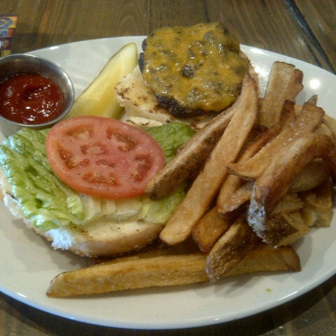 Photo taken at TILTED GRILL by Ryan A. on 8/30/2012