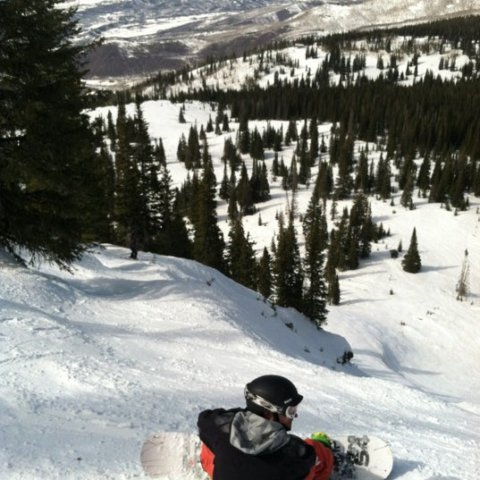 Photo taken at Steamboat Resort by Bill G. on 3/15/2012