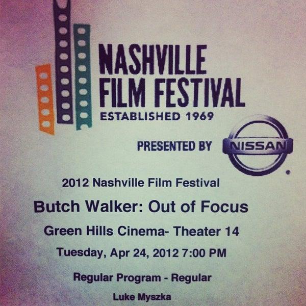 Photo taken at Regal Cinemas Green Hills 16 by Luke M. on 4/25/2012