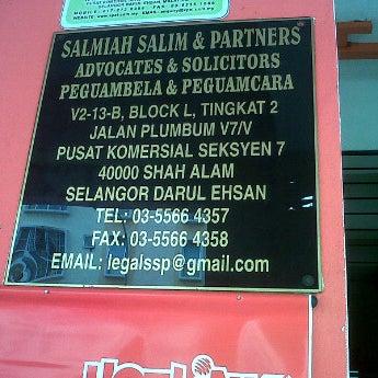 . Salmiah Salim   Partners   1 tip