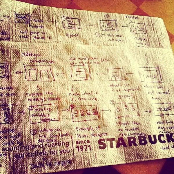 Photo taken at Starbucks by Pete R. on 5/5/2012