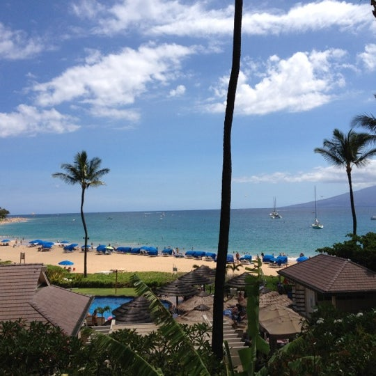 Photo taken at Sheraton Maui Resort & Spa by Ally R. on 8/4/2012