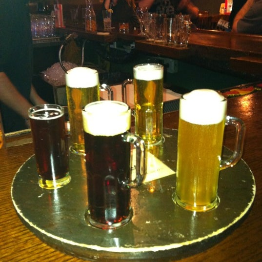 Photo taken at Black Forest Brew Haus by Holtysgirl on 3/24/2012