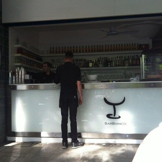 Photo taken at Bar Bianco by Valentina O. on 4/28/2012