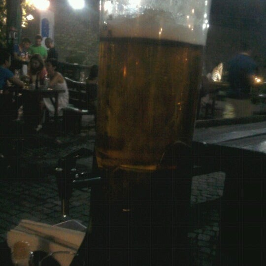 Photo taken at Old Town Brewery by Dusko J. on 8/18/2012