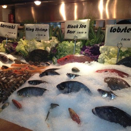 Photo taken at Kellari Taverna NY by Cecilia H. on 2/15/2012