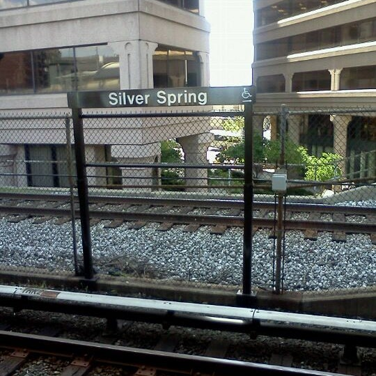 Silver Springs Silvers: Metro Station In Silver Spring