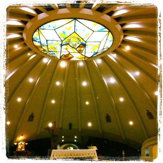 Photo taken at Sto. Niño de Paz Community Chapel by Lance R. on 7/29/2012