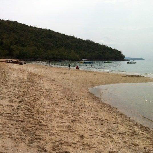 Photo taken at Sai Keaw Beach by Bom C. on 3/25/2012