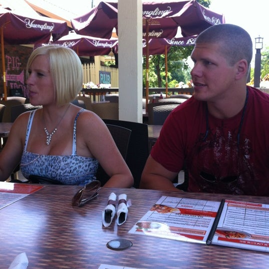 Photo taken at Iron Grill Barbecue and Brew by Brian M. on 6/9/2012