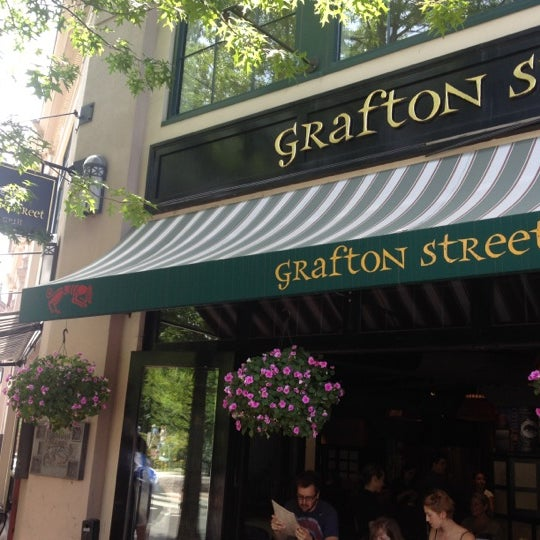 Photo taken at Grafton Street Pub by Krystina on 6/23/2012